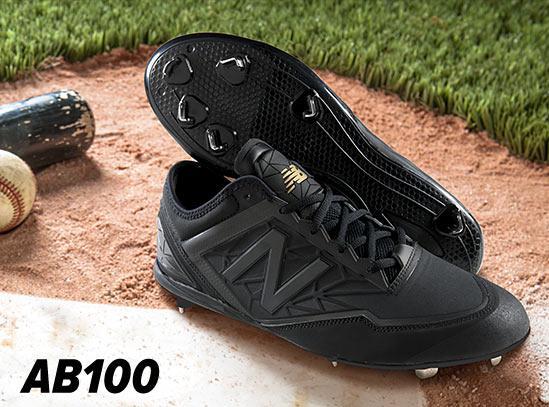 送料無料!【特別価格】 ニューバランス AB100 スパイク 【高校野球対応】