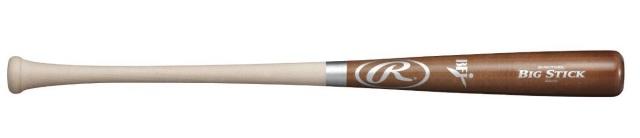 送料無料!【特別価格】 BFJマーク有 ローリングス 硬式木製バット 北米ハードメープル材