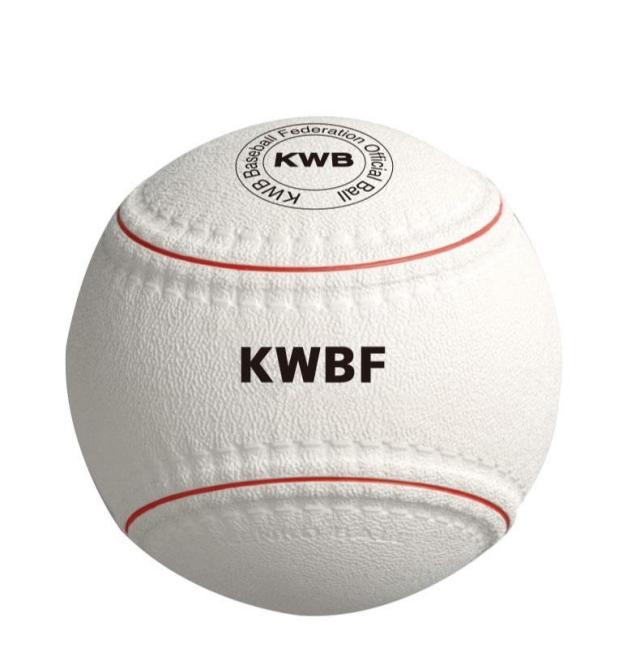 KWBボール (Kボール) KWB野球連盟 旧公認球  M号球よりも硬式球に近い練習ボール