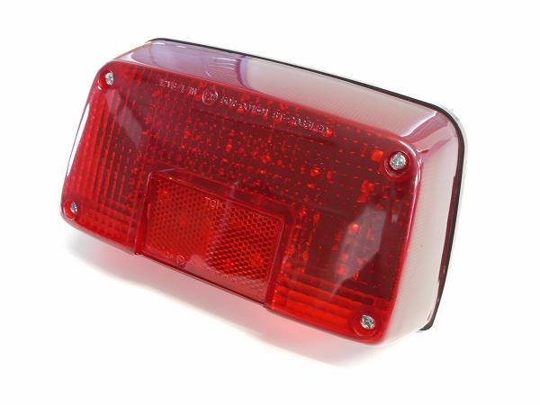 GSX400Sカタナ GSX250Sカタナ用LEDテールランプ レッドレンズ 刀 ナンバー灯付き