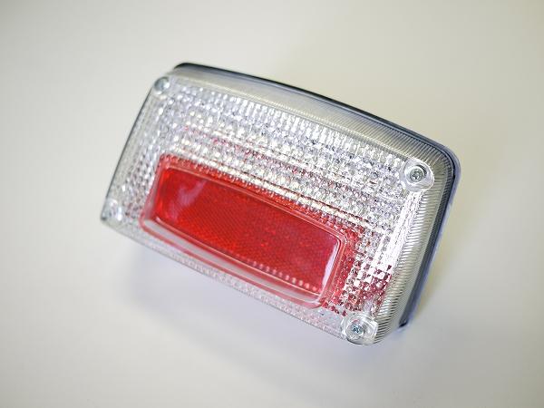 GSX1100S GSX750Sカタナ用 LEDテールランプ クリアレンズ  ナンバー灯付き