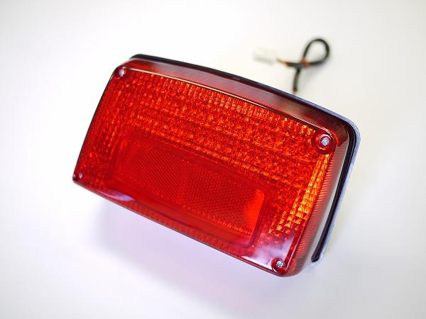 GSX1100S GSX750Sカタナ用 LEDテールランプ レッドレンズ  ナンバー灯付き