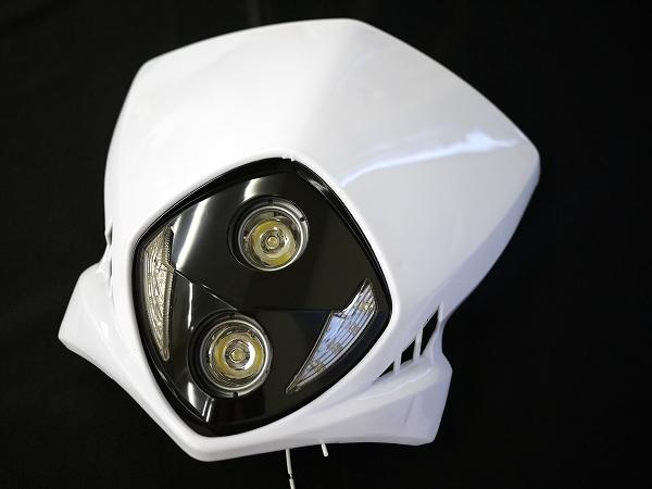 LEDエンデューロヘッドライト2 白 汎用