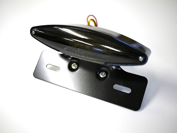 LEDスネークアイテールランプ 汎用品 ブラックボディ