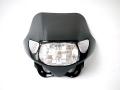 ウインカー付きヘッドライト マスク 黒