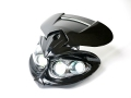 LEDイーグルアイヘッドライト 黒S 汎用