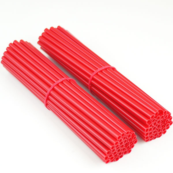 スポークスキン ラップ 21.5cm×76本入り レッド 赤