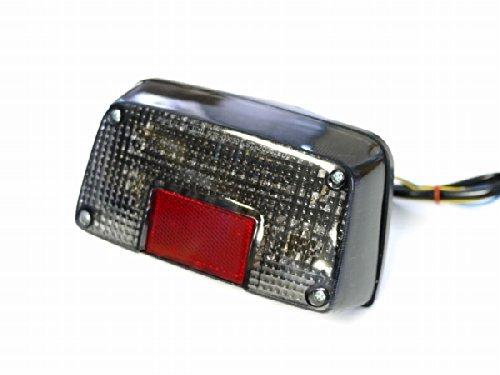 GSX400インパルス用 LEDウインカー付きテールランプ スモークレンズ ナンバー灯付き