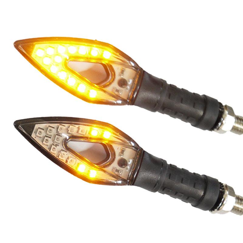 LEDシーケンシャルパイルウインカー 流れるウインカー 2個セット