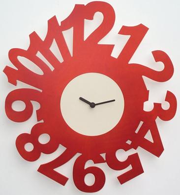 斬新デザインです! イタリア・ピロンディーニ掛け時計 Profile009