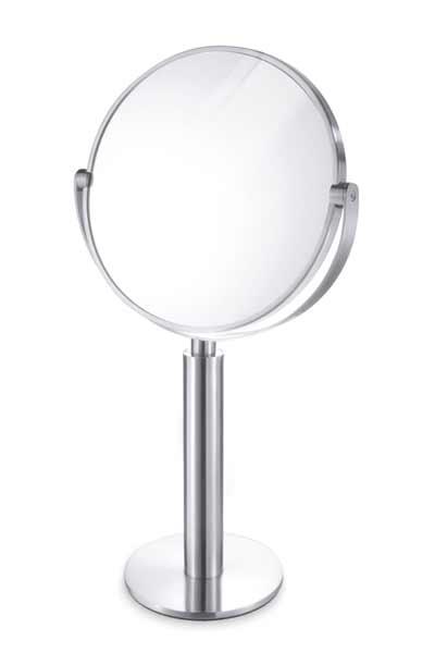 拡大鏡つきが便利!ステンレススタンドミラーFELICE 40114 ZACK テーブルミラー