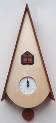 カッコーが鳴いて時刻を知らせます!鳩時計 カッコークロック イタリア・ピロンディーニClassicoNat115ms
