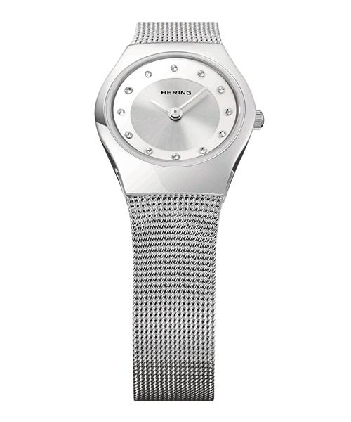 BERING腕時計 ベーリングリストウォッチ レディース Classic Curving Mesh 11923-000