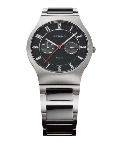 BERING腕時計 ベーリングリストウォッチ  メンズ  Link Titanium 11939-772