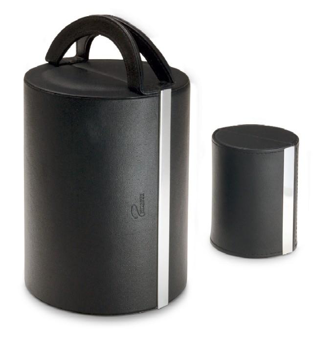 指輪やネックレスを便利に収納!レザージュエリーボックス サークル BK Philippi 128056
