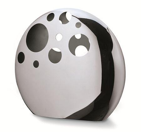 斬新なデザインが目を引くMoon vase Philippi 129007