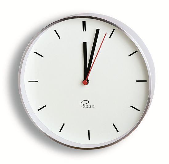 スタイリッシュでシンプルな掛け時計LINES Philippi 183002