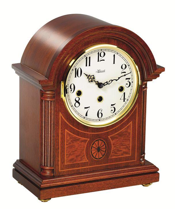 アンティーク調でお洒落!ヘルムレ(HERMLE)機械式置き時計   22827-070340