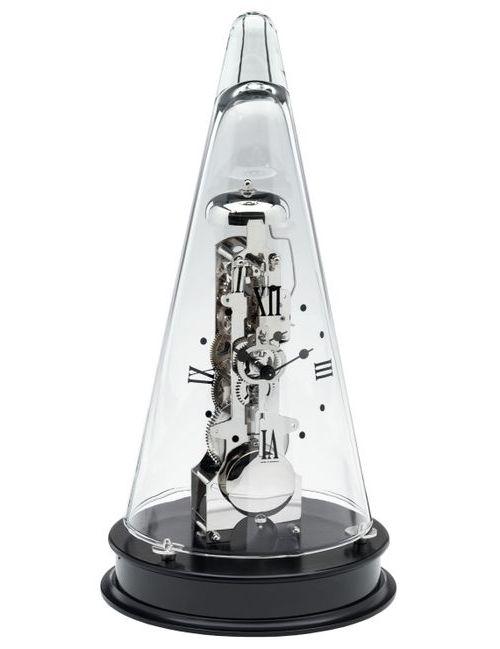 ムーブメントが見えるスケルトンデザイン!ヘルムレ(HERMLE)置き時計 振り子置き時計 スケルトン 22995-740791