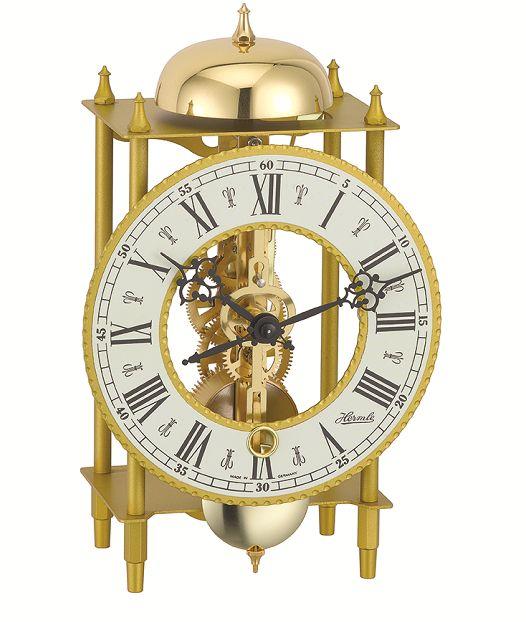 ムーブメントが見えるスケルトンデザイン!ヘルムレ HERMLE 置き時計 Table Clock  23004-000711