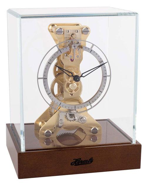 モダンでお洒落な機械式置き時計!ヘルムレ(HERMLE)置き時計  23047-020762