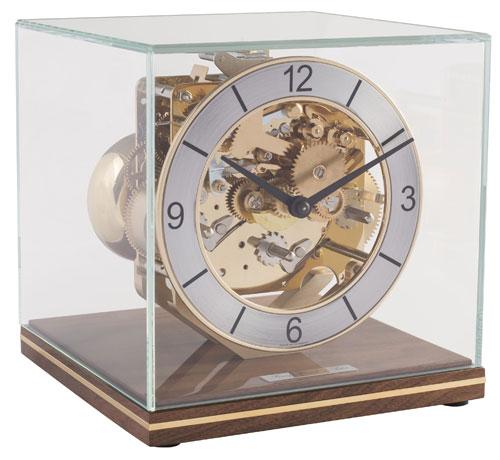 モダンスタイルの機械式報時置き時計!ヘルムレ(HERMLE)報時置き時計   23052-030340