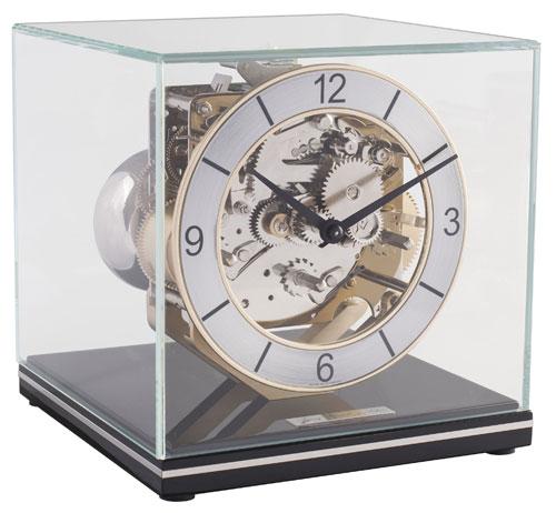 モダンスタイルの機械式報時置き時計!ヘルムレ(HERMLE)報時置き時計   23052-740340