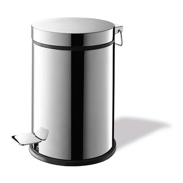 スタイリッシュにお部屋を飾る ペダルビン ゴミ箱 ステンレス 40066  VASCA  ZACK