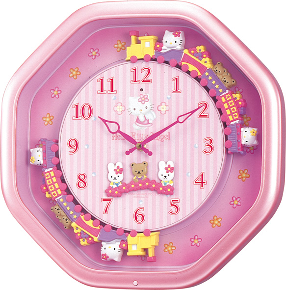 毎正時に1曲メロディーが流れます! ハローキティ  Hello Kitty  4MH766MB13  シチズン時計