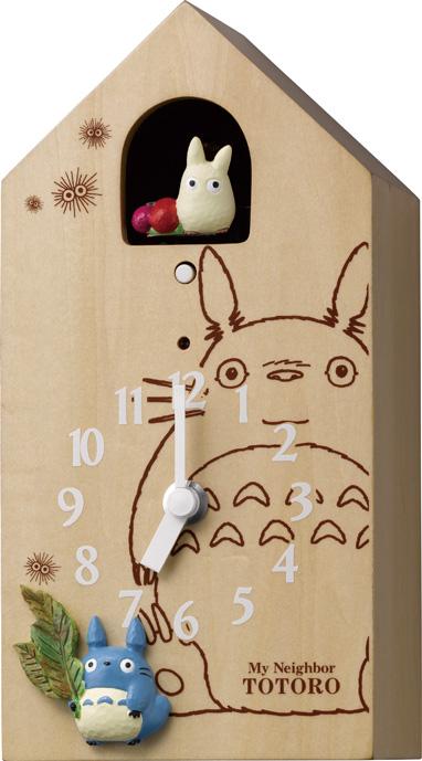 「となりのトトロ」の鳩時計! 置き掛け兼用 カッコークロック トトロM898 4MH898-M06 リズム時計