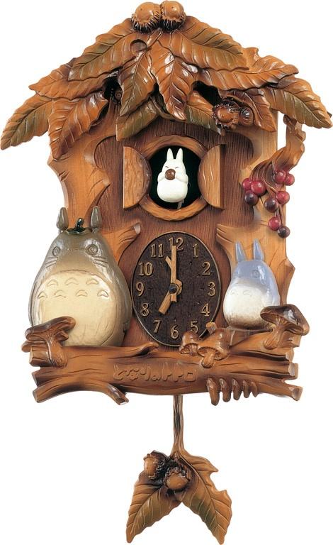 「となりのトトロ」のテーマ曲が流れます! ととろの振り子時計 トトロM806A 4MJ806MA06 リズム時計