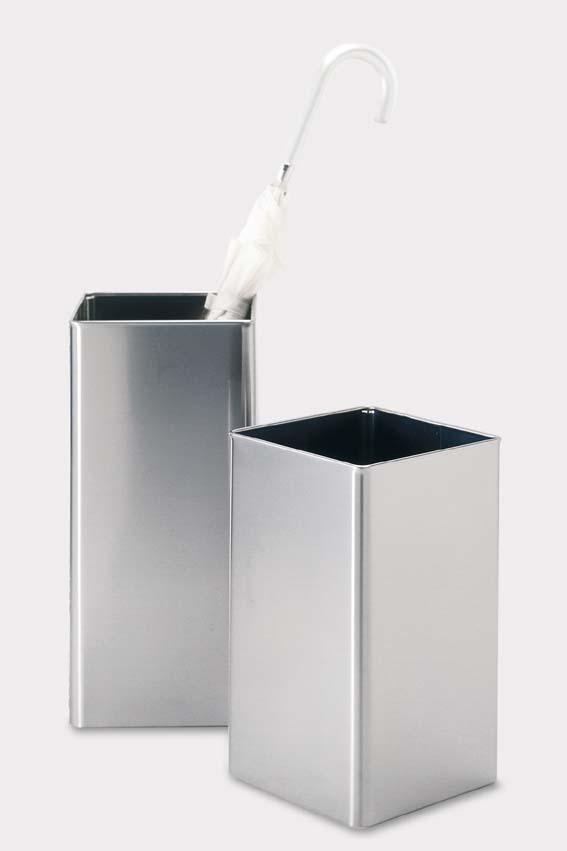 シンプルで機能性が高いステンレス製ゴミ箱ANGOLO ZACK 50477
