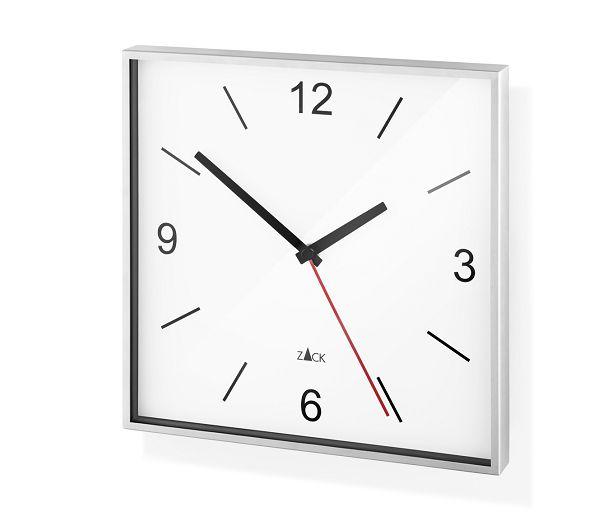 ドイツ ZACK ステンレス掛け時計 スクエア 26cm Wall Clock SILLAR 60053