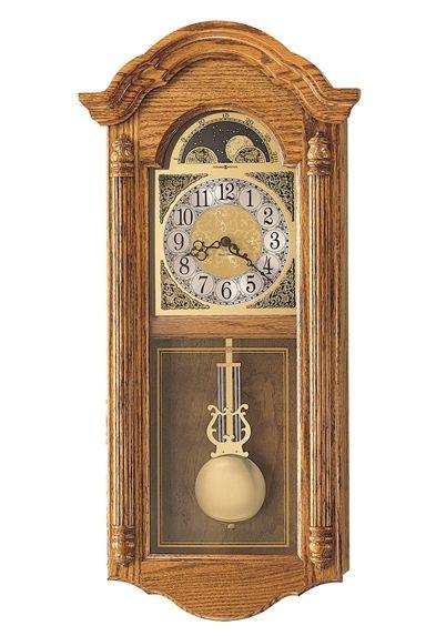 アンティーク調でお洒落!ハワード・ミラーHoward Miller社製 報時振り子掛け時計 Fenton  620-156