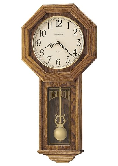 アンティーク調でお洒落!ハワード・ミラーHoward Miller社製 報時振り子掛け時計 Ansley  620-160