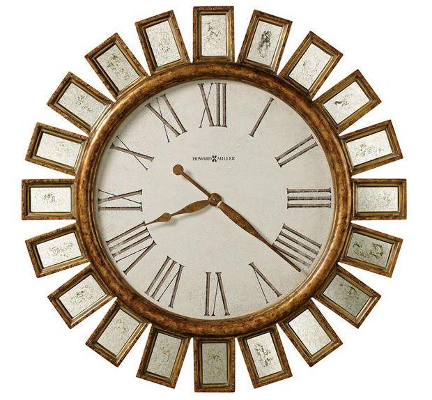 アンティーク調でお洒落!ハワード・ミラーHoward Miller社製掛け時計 Solaris  625-454