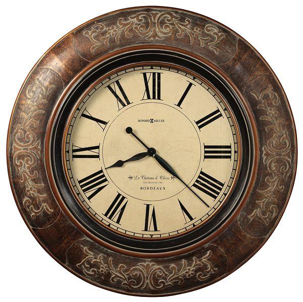 アンティーク調でお洒落!ハワード・ミラーHoward Miller社製掛け時計 Le Chateau  625-535