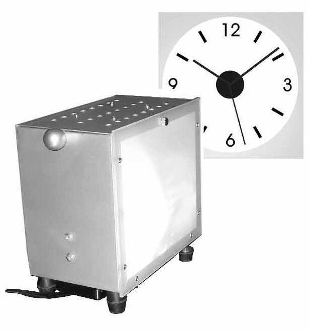 壁に時刻を投影 プロジェクションクロック(映写式クロック)ICE CUBE 50%割引!