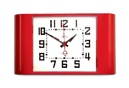 レトロなデザインが魅力です! NEWGATE 掛け時計 METROレッド METRO28R