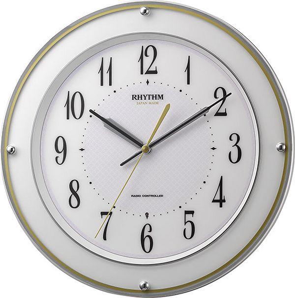 連続秒針! 電波掛け時計 ミレディサヤカ  8MY510SR03  リズム時計