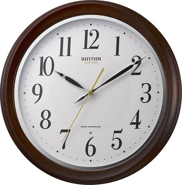 電波掛け時計フィットウェーブアヤ 8MY512SR06 リズム時計