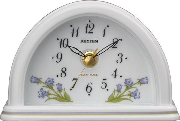 愛しいほどに美しい有田焼きの置時計 RHG-S77 8RG624HG12 磁器置時計 リズム時計