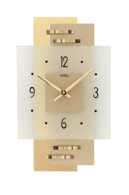 AMS9241  お洒落なデザインです! AMS アームス掛け時計