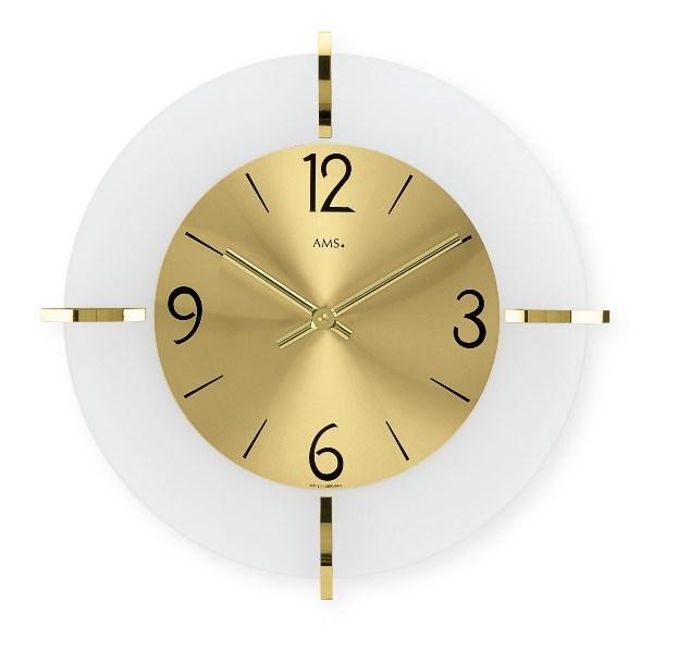 AMS9287 スタイリッシュなデザインが魅力! AMS アームス掛け時計