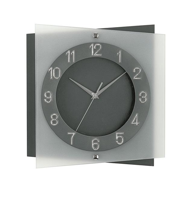 AMS9323 スタイリッシュでクールなデザイン! AMS アームス掛け時計