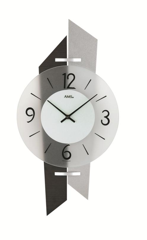 AMS9343  斬新なデザインが魅力! AMS アームス掛け時計