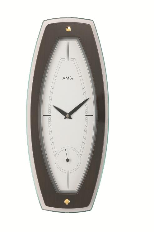 AMS9357-1  お洒落なデザインです! AMS アームス掛け時計