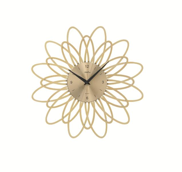 AMS9361  繊細なフローラルデザイン! AMS アームス掛け時計