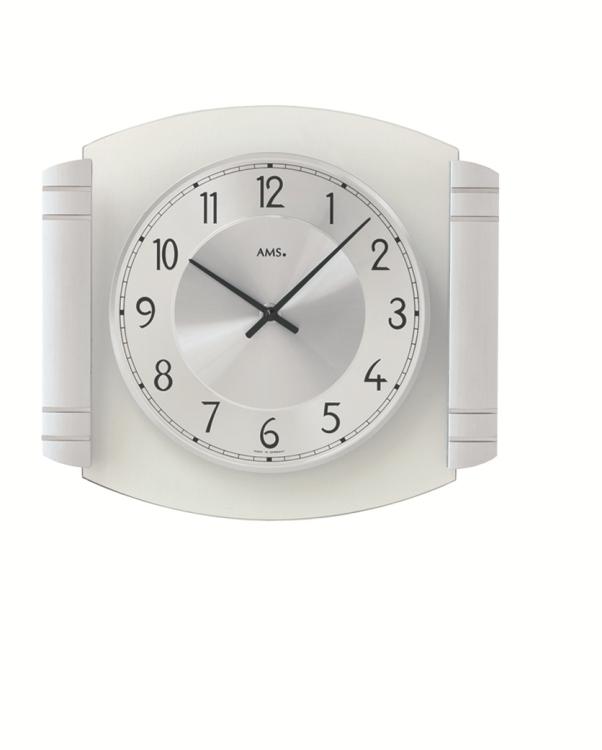 お洒落なデザインが魅力! AMS アームス掛け時計 9376