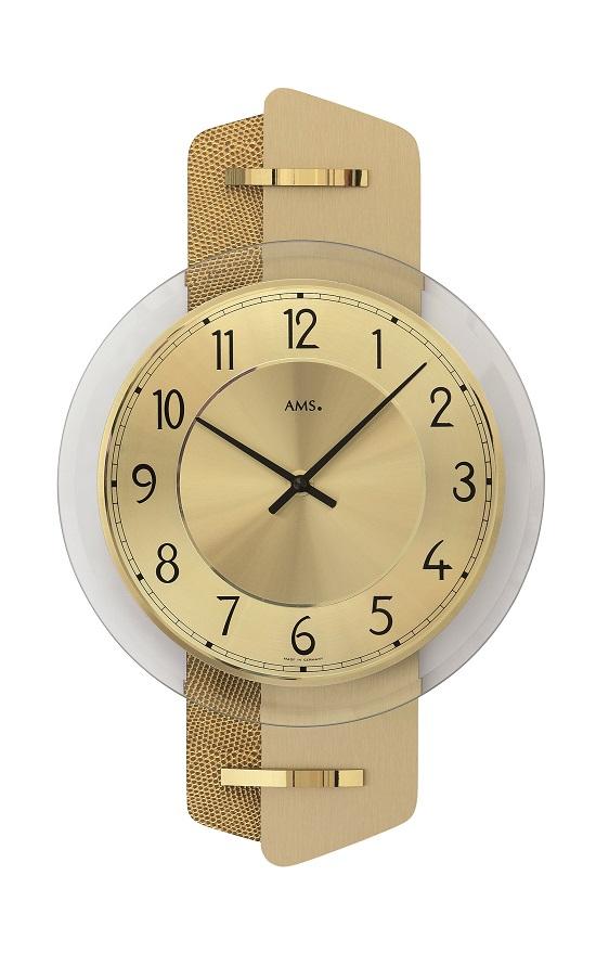 AMS9405  お洒落なデザインです! AMS アームス掛け時計